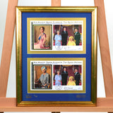 200437 - Queen Mother Framed Reg PR Commemorative Cover Signed - Treasure TV