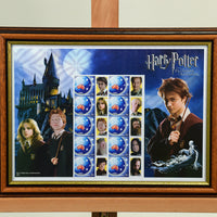 200452 - Harry Potter Framed & Mounted Stamps Sheetlet - Treasure TV