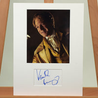 200442 - Kenneth Branagh as Gilderoy Lockhart Mounted Photo & Personal Signature - Treasure TV