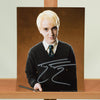 200450 - Tom Felton as Draco Malfoy Mounted Colour Photo Personally Signed