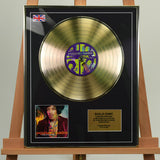 200469 - Jimi Hendrix -The Best Of Framed & Mounted Gold Disc Ltd Edition of 50 only - Treasure TV