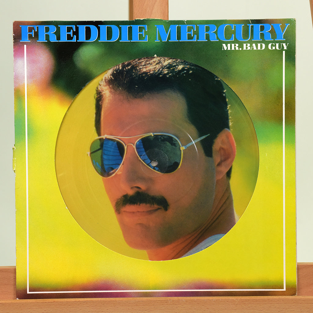 200501 - Freddie Mercury Collectors Promo Picture Disc Vinyl LP Album - Treasure TV