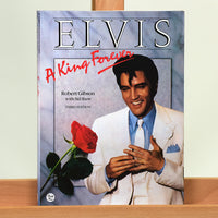 200481 - Elvis Presley ' King Forever' Rare Collectors Hardback Book - Treasure TV