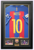 200109 - Lionel Messi Framed & Mounted Barcelona FC Shirt Personally Signed