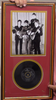 "200381 - The Beatles Framed Photo & Original 7"" Vinyl Single Record Limited Edition of 1000 only"