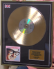 200315 - Buddy Holly- Greatest Hits Framed & Mounted Gold Disc Limited Edition of 50 only