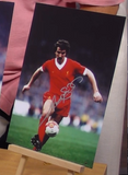 200390 - Graham Souness Large 16x12 Colour Photo in Liverpool FC kit Personally Signed - Treasure TV