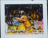 200240 - Hulk Hogan Mounted Photo Personally Signed - Treasure TV