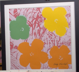 200275 - Andy Warhol - Flowers Original Art Lithograph Ltd Edition Signed in the Plate - Treasure TV