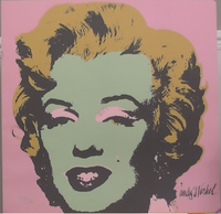200279 - Andy Warhol - Marilyn Monroe Original Official Pop  Art Print Signed in the Plate by Warhol - Treasure TV