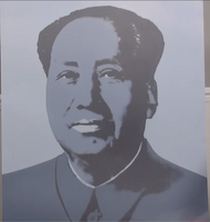 200280 - Andy Warhol- Chairman Mao Original Official Pop Art Print Signed in the Plate by Warhol - Treasure TV