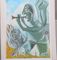 200282 - Picasso -  The Naked Serenade Rare Original Art Lithograph   Signed in Plate - Treasure TV