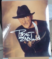 200263 - Robert Englund as Freddy Kruger Mounted Colour Photo Personally Signed - Treasure TV