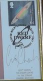 200269 - Red Dwarf Framed Commemorative Cover Personally Signed by Craig Charles - Treasure TV
