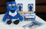 200368 - Athletics Bear Pack- Official Bear+2x Pin Badges+Wristband + Lanyard - Treasure TV