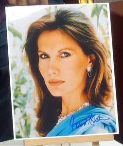 200220 - Maud Adams in James Bond Personally Signed - Treasure TV