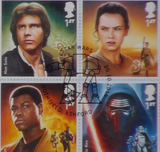 200328 - Star Wars Key Characters Celebration Cover with Full Set of 12 GB official Star Wars Stamps - Treasure TV
