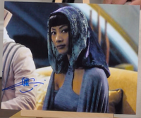 200336 - Bai Ling in Star Wars Ciolour Photo Personally Signed - Treasure TV