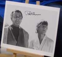 200372 - Phil Brown as Uncle Owen Lars In Star Wars Colour Photo Personally Signed - Treasure TV