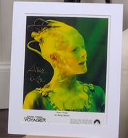 200342 - Alice Krige as Borg Queen Mounted Photo Personally Signed - Treasure TV
