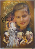 200179 - Sophie Aldred -As Ace in Dr Who Photo Card Print Personally Signed - Treasure TV