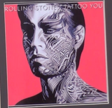 200288 - Rolling Stones- Tattoo You Framed & Mounted Gold Disc Ltd Edition of 250 only - Treasure TV