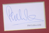 200289 - Phil Collins Framed & Mounted Photo & Personal Signature - Treasure TV