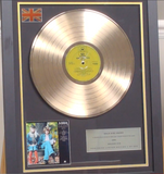 200297 - Abba Greatest Hits Framed & Mounted Gold Disc Ltd Edition of 250 only - Treasure TV