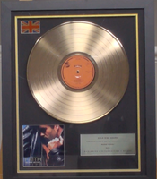 200304 - George Michael- Faith Framed & Mounted Gold Disc Ltd Edition of 150 only - Treasure TV
