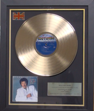 200309 - Lionel Ritchie - Dancing on the Ceiling Framed & Mounted Gold Disc Ltd Edition of 150 only - Treasure TV