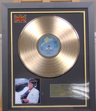200310 - Michael Jackson - Thriller Framed & Mounted Gold Disc Ltd Edition of 150 only - Treasure TV
