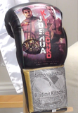 200153 - Wladimir Klitchko & Anthony Joshua Fight Special Boxing Glove Signed by Joshuia - Treasure TV