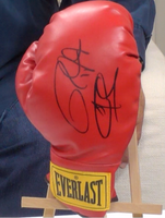 200156 - Roy Jones Jnr & Joe Calzaghe Double Signed Boxing Glove Personally Signed Boxing Glove - Treasure TV