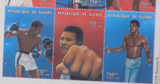 200163 - Muhammad Ali Framed commemorative Stamps Sheeetlet - Treasure TV
