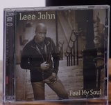 200491 - Leee John - Feel My Soul Jazz Album CD Personaly Signed