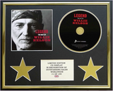 200463- Willie Nelson Framed Cd Display Presentation - Treasure TV