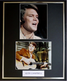 200464 - Glen Campbell Framed & Mounted Photo Display - Treasure TV