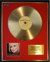200465 - Dolly Parton - Very Best Of Framed & Mounted Gold Disc Ltd Edition of 50 only - Treasure TV