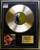 200466 - Johnny Cash- At Folsom Prison Framed & Mounted Gold disc Ltd Edition of 50 only - Treasure TV