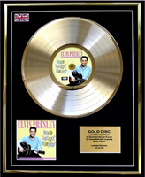 200473 - Elvis Presley- Good Rockin Tonight Framed & Mounted Gold Disc Ltd Edition of 50 only - Treasure TV