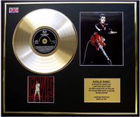 200482 - Elvis Presley NBC TV Special Framed & Mounted Photo & Gold Disc Presentation Ltd Edition - Treasure TV