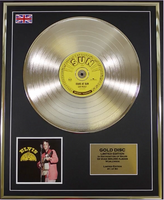 200488 - Elvis at Sun Framed & Mounted giold Disc Ltd Edition of 50 only - Treasure TV