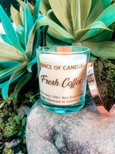 Fresh Coffee Scented Candle, Wood Wick Candles - Prince of Candles