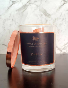 Sandalwood Scented Candle - Prince of Candles