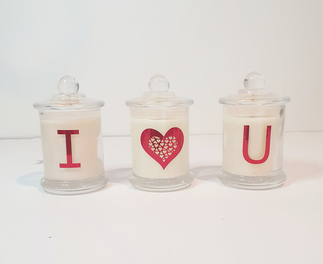 LIMITED EDITION: Valentines Day Trio Candle Pack - Prince of Candles