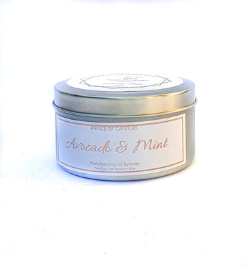 Scent Sample Avocado & Mint Scented Candle - Prince of Candles