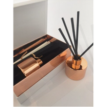 Sandalwood,Rose Gold Reed Diffuser, 100ml, Reed Diffuser - Prince of Candles