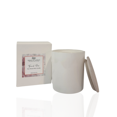 LIMITED EDITION: Mother's Day Collection French Pear Scented Candle - Prince of Candles