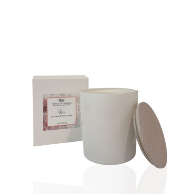 LIMITED EDITION: Mother's Day Collection Rose Scented Candle - Prince of Candles
