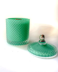 Teal Raindrop Scented Candle - Prince of Candles